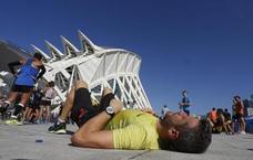 18 corredores acaban en el hospital en el Maratón de Valencia