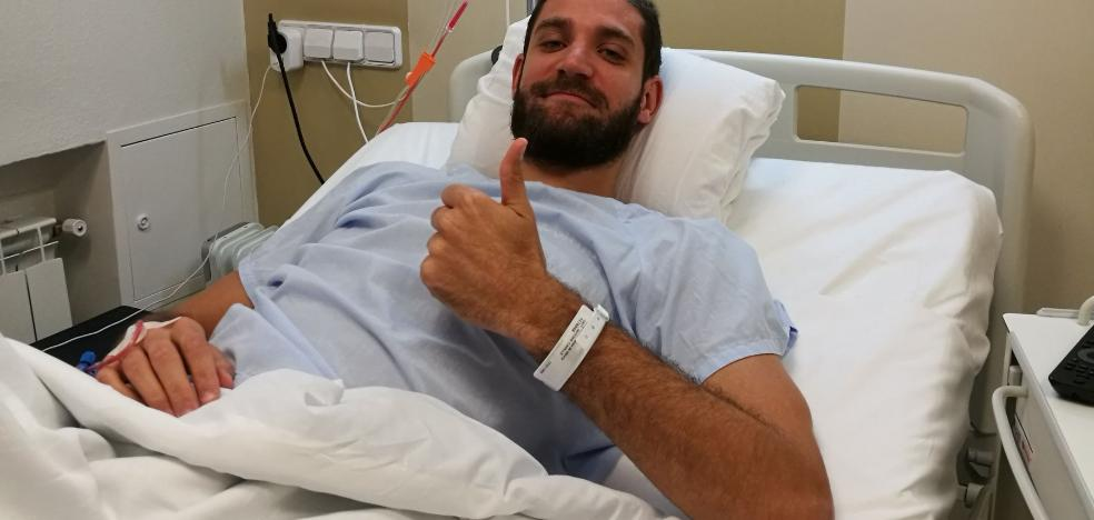 Antoine Diot estará hasta cuatro meses más de baja tras su operación de rodilla