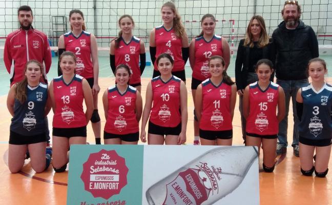 Victorias para los equipos del Xàtiva Voleibol de la Superliga 2