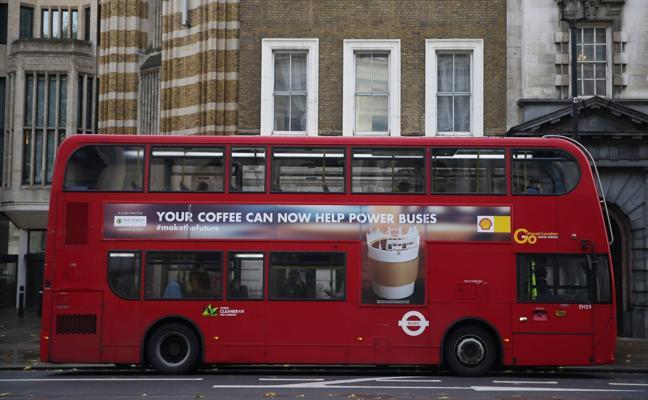 El café mueve los autobuses de Londres