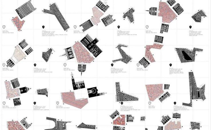 Fotos de las propuestas para la urbanización de la Plaza de Brujas