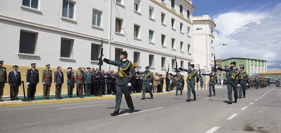 Regresan los guardias civiles destinados en Cataluña