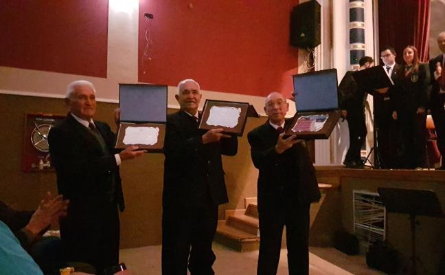 Tres músicos celebran sus 70 años en la banda de Titaguas