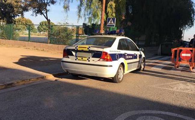 La Policía Local de Foios patrulla con un vehículo prestado por Meliana a causa de una avería