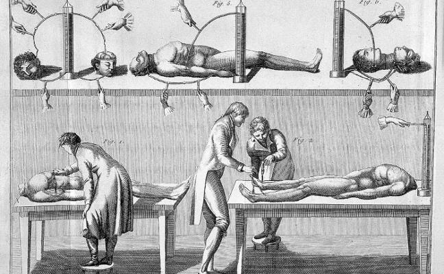 Una muestra recupera el mito de Frankenstein