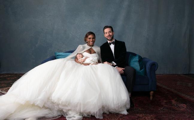 Las fotos de la boda de Serena Williams