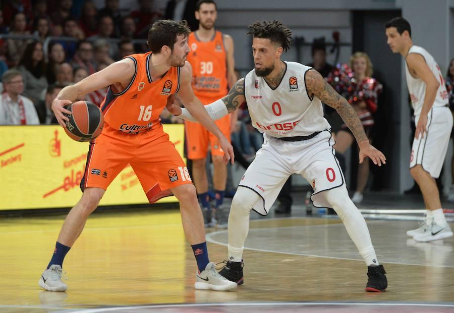 Fotos del Brose Bamberg-Valencia Basket