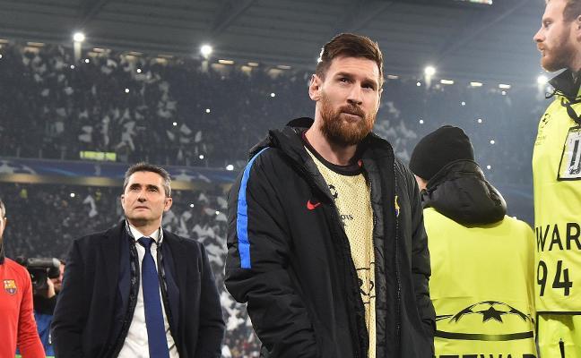 El Valencia hace descansar a Messi