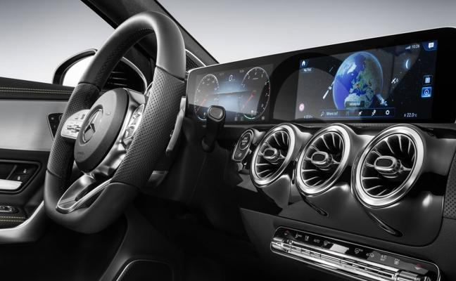 El diseño interior de la nueva Clase A de Mercedes