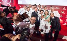 Listado por comunidad autónoma de los restaurantes con estrellas Michelin 2018