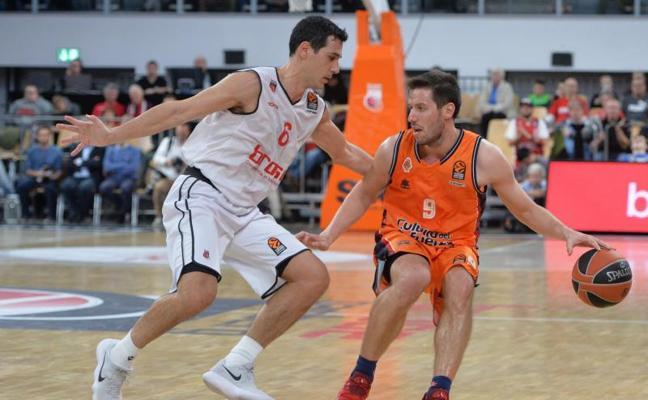 Primer fin de semana libre para el Valencia Basket