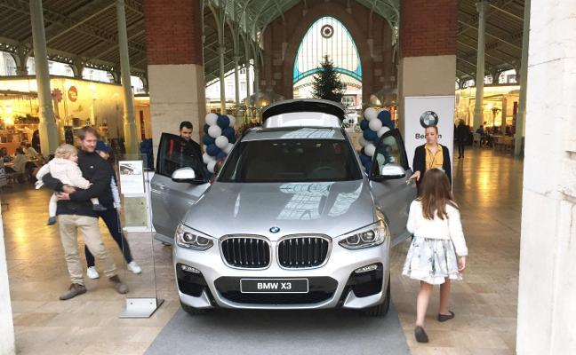 BMW Bertolín, con el X3 en Mercado Colón