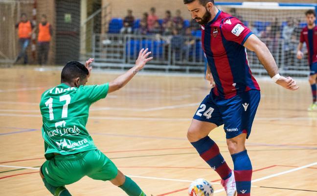 El Levante FS pierde y se aleja de la Copa