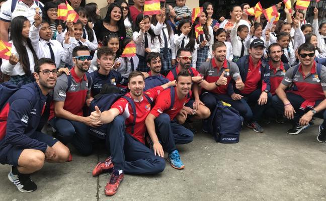 El himno de Pemán suena en el Mundial de Colombia