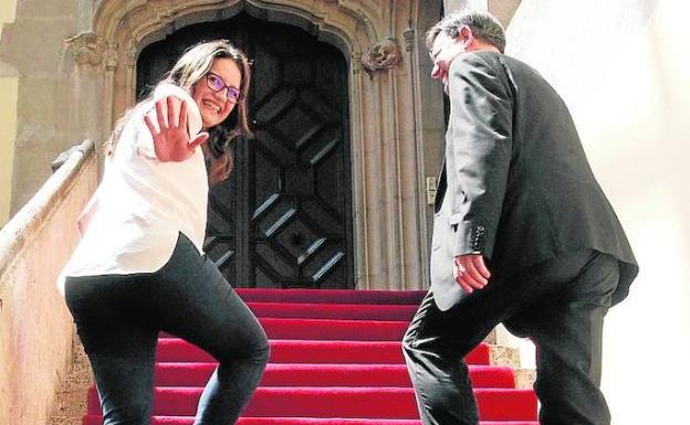Fotos de Mónica Oltra, de la oposición al Consell