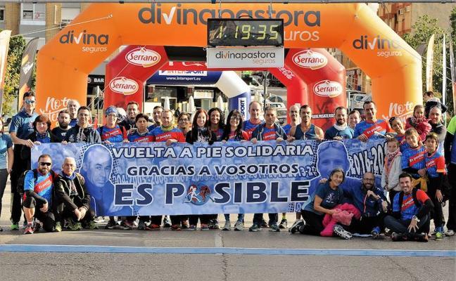 Ismael Quiñones y Fátima Ayachi ganan la Volta a Peu Es Posible de Valencia 2017