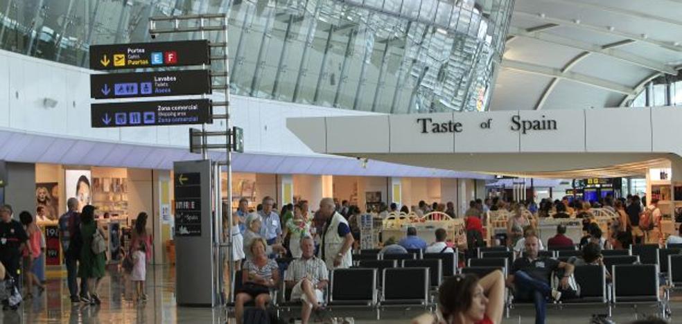 El aeropuerto de Manises supera los seis millones de viajeros
