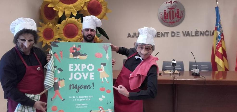 Expojove promocionará la alimentación saludable con el lema 'Nyam'
