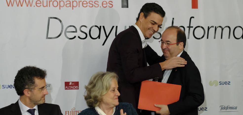 Iceta promete hacer lo posible para impedir una repetición de elecciones en Cataluña