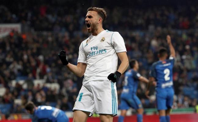 Borja Mayoral: «Teníamos ganas de que volviese Bale»