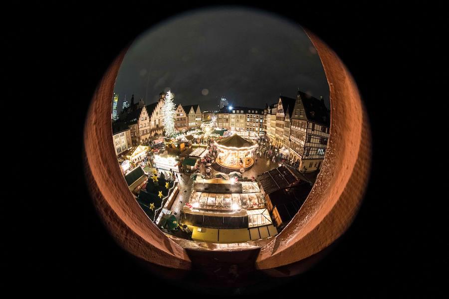 Fotos del mercado navideño de Breitscheidplatz en Berlín