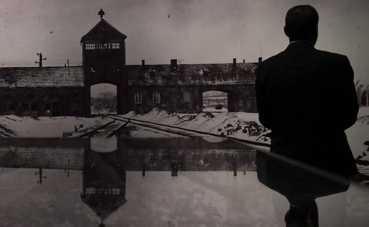 Fotos de la exposición 'Auschwitz. No hace mucho, no muy lejos'