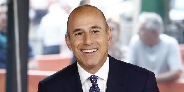 Matt Lauer. / Getty Images