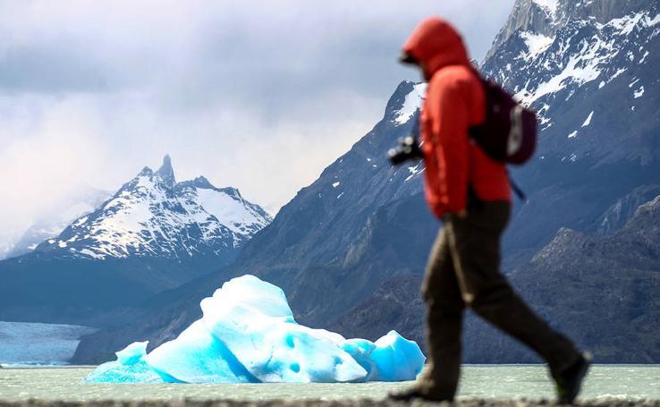 El glaciar Grey se fractura por el cambio climático