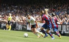 Les Corts instan al Valencia CF a que el equipo femenino pueda jugar en Mestalla