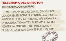 Telegrama para Salvador Navarro