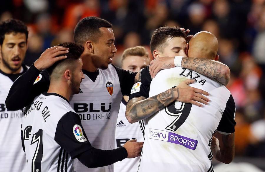 Fotos del Valencia CF-Real Zaragoza