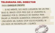 Telegrama para Enrique Crespo