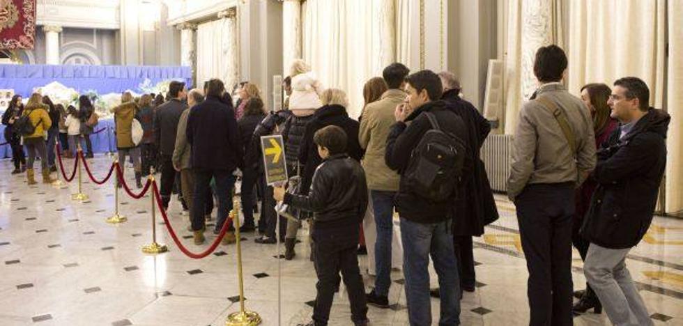 Valencia inaugurará el lunes el belén artístico municipal de 36 metros cuadrados