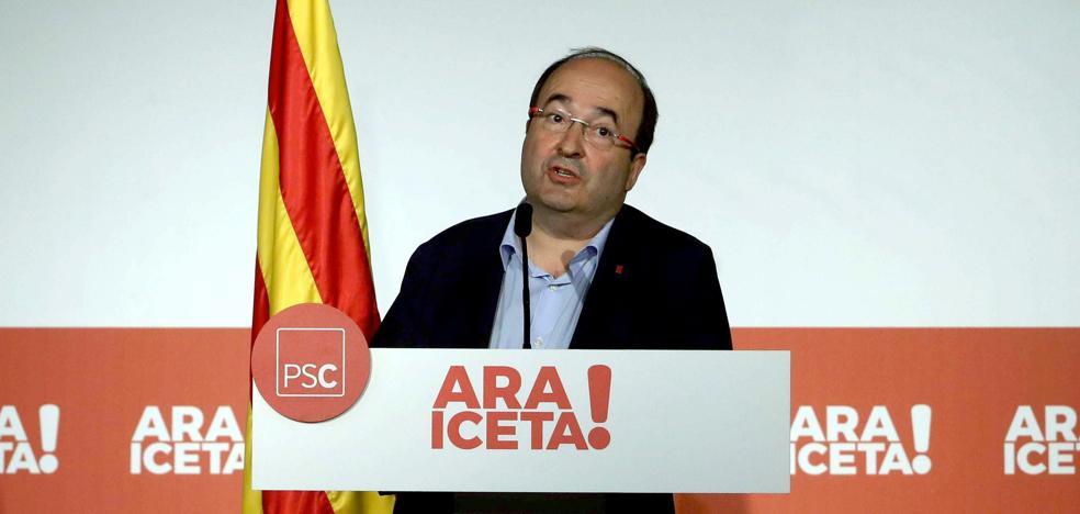 Iceta afirma que solo el PSC demuestra que quiere «mejorar la financiación de Cataluña»