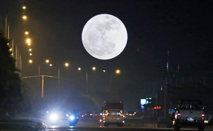 Fotos de la Superluna de 2017, la más grande del año