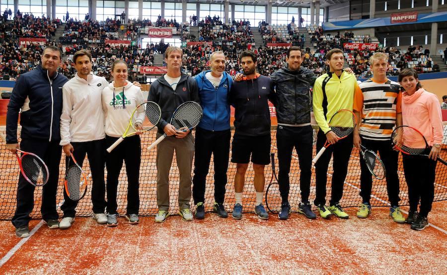 Fotos de la primera edición de la Fiesta del Tenis