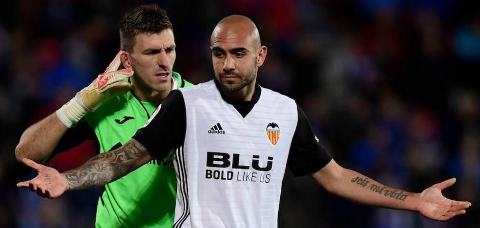 El Getafe patea al Valencia CF