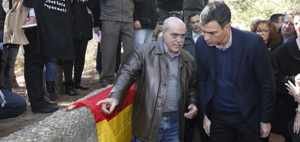 La reforma de la ley de Memoria Democrática del PSOE incluirá sacar a Franco del Valle de los Caídos
