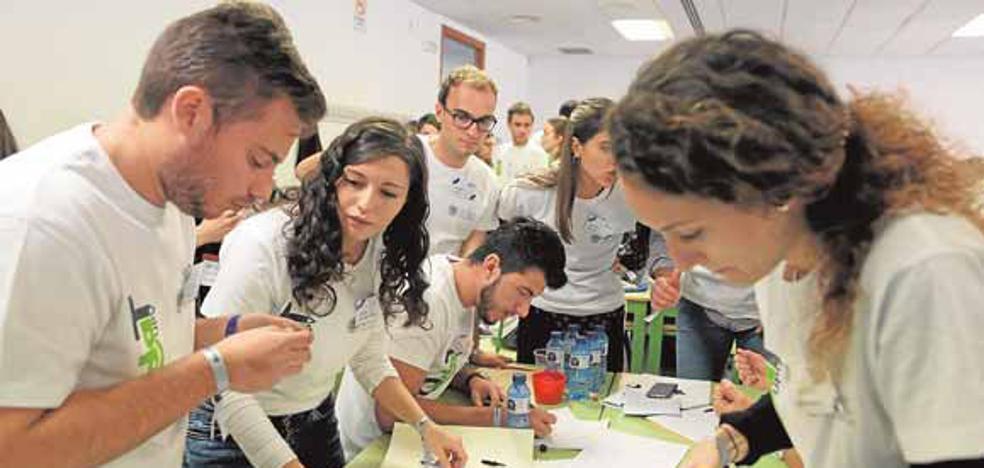 Universitario: las empresas vienen a verte