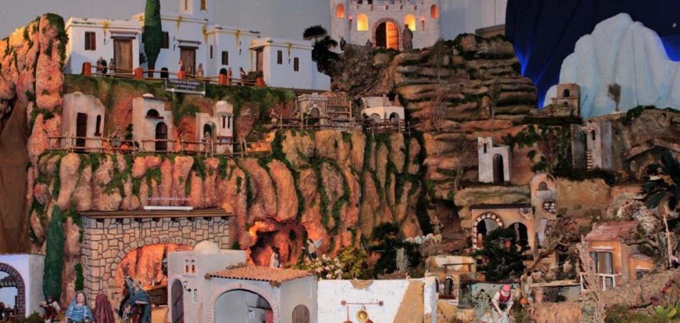La parroquia de San Roque en Silla recrea un Belén monumental de 12 metros