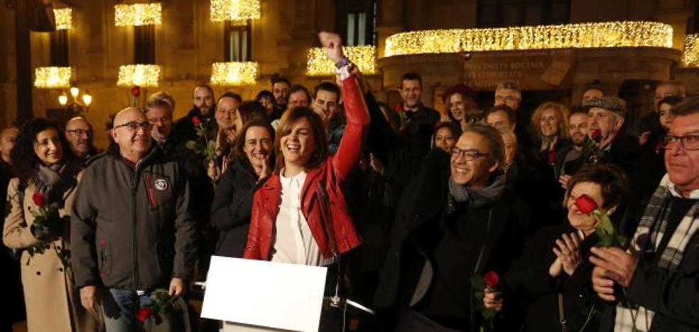 Sandra Gómez: «Me presento para ganar en 2019»