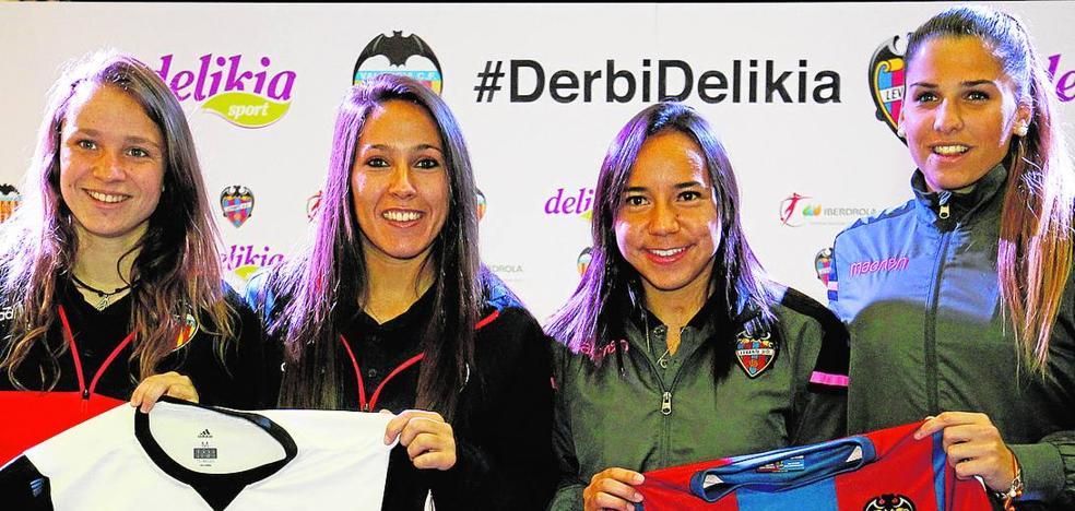 Sólo fútbol en el derbi femenino