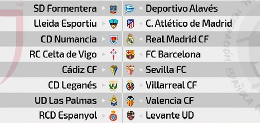 Las Palmas-Valencia y Levante-Espanyol, para los octavos de la Copa del Rey