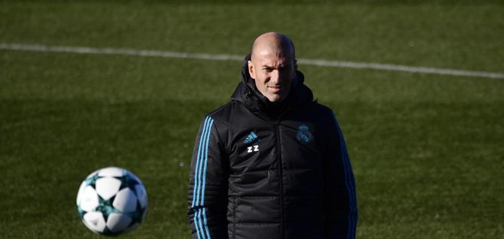 Zidane: «Quedan seis meses, ¡cuidado con Cristiano!»