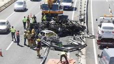 El número de muertos en accidente de tráfico en la Comunitat baja un 15%, con 93 hasta noviembre