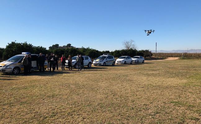 Algemesí ya vigila con drones su término municipal
