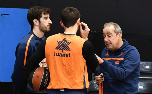 El Valencia Basket arropa sin fisuras a Vidorreta