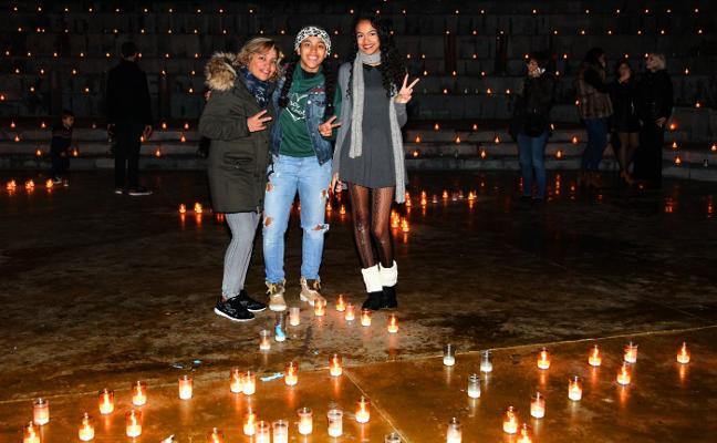 Más de 7.000 velas iluminarán Dénia en la Nit de la Llum