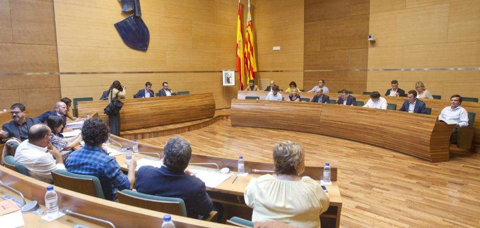 El tripartito sube el presupuesto de la Diputación un 6% pese a querer cerrarla en 2015