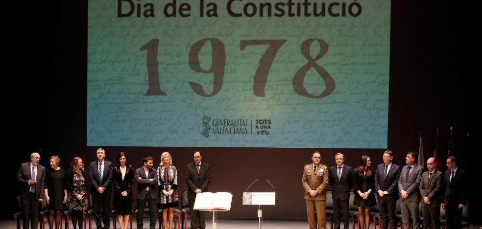 Puig reclama reformar el modelo de financiación antes que la Carta Magna